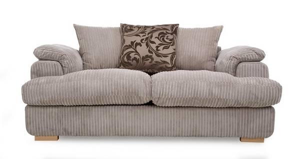Celine 2 Seater Pillow Back Deluxe Sofa Bed
