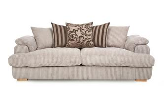 4 Seater Pillow Back Sofa