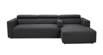 Charlotte Right Hand Facing Chaise Sofa