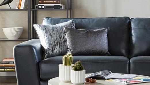 Cherish Leather sofa roomset