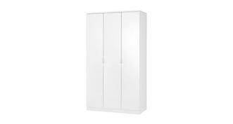 Chic 3 Door Wardrobe