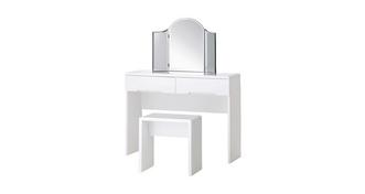Chic Dressing Table with 2 Drawers