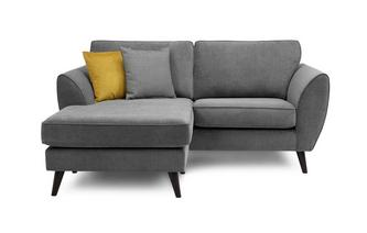 3 Seater Lounger Sofa Removable Arm