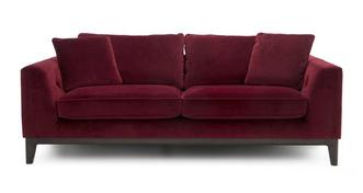Chord Fabric 3 Seater Sofa