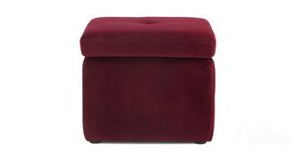 Chord Fabric Storage Footstool