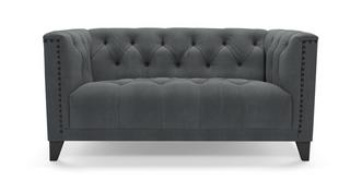 Churchill Velvet 2 Seater Sofa