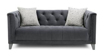 Churchill Velvet 3 Seater Sofa