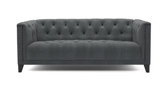 Churchill Velvet 4 Seater Sofa