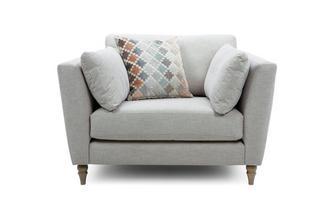 Cuddler Sofa Claudette Plain