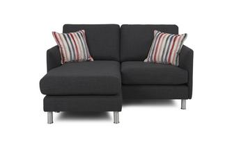 3 Seater Lounger Cleo Plain