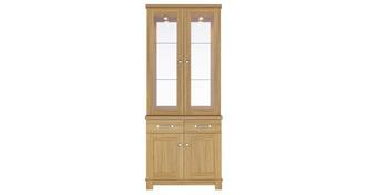 Clover 2 Door Glass Display Unit