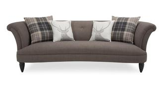 Concerto 4 Seater Sofa (Alternative Fabric)