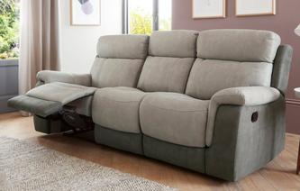 Corey 3 Seater Manual Recliner Arizona