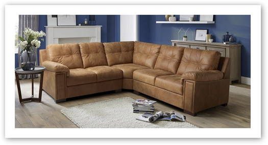 Corner Sofas In Leather Or Fabric Styles Ireland | DFS Ireland