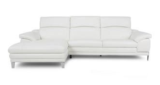 Corso Option B Left Hand Facing Large Chaise End Sofa