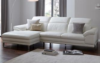 Corso Option A Right Hand Facing Large Chaise End Sofa New Club