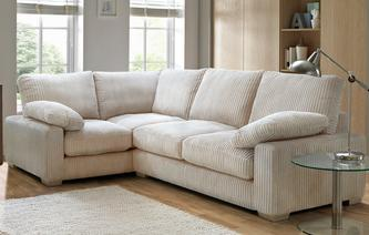 Crosby Right Hand Facing 2 Seater Corner Sofa Crosby