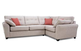 Left Hand Facing 3 Seater Corner Sofa
