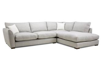 Formal Back Left Hand Facing Arm Large Corner Sofa