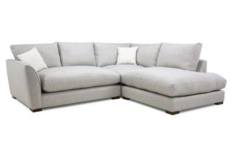 Formal Back Left Hand Facing Arm Small Corner Sofa