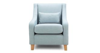 Cubix Accent Chair with 1 Plain Bolster