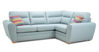Cubix Left Hand Facing 2 Seater Corner Sofa