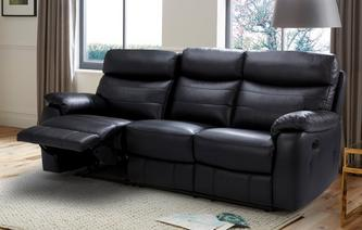 Danson 3 Seater Manual Recliner Premium