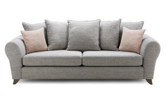 Pillow Back 4 Seater Sofa