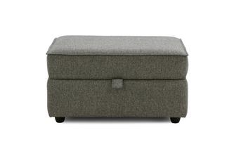 Large Storage Footstool Benita