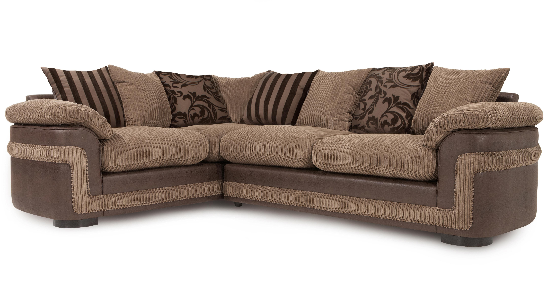 dfs brown fabric corner sofa brokeasshome com Multifunctional Sofa Beds Sofa Bed Queen