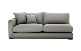 Soft Plain Left Hand Facing Large Sofa Unit Dillon Soft Plain