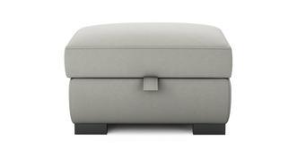 Dillon Soft Plain Large Storage Footstool