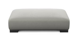 Dillon Soft Plain Large Rectangular Footstool