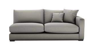 Dillon Soft Plain Right Hand Facing Large Sofa Unit