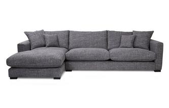 Left Hand Facing Large Chaise End Sofa Dillon
