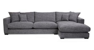 Dillon Right Hand Facing Large Chaise End Sofa