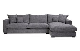 Right Hand Facing Large Chaise End Sofa Dillon