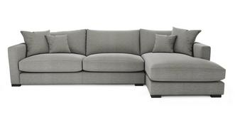 Dillon Smart Weave Right Hand Facing Large Chaise End Sofa