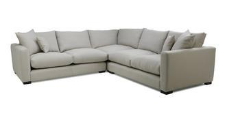 Dillon Soft Plain Small Corner Sofa