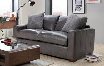 Leather Sofa Beds Dfs Spain