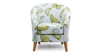 Dion Pattern Accent Chair