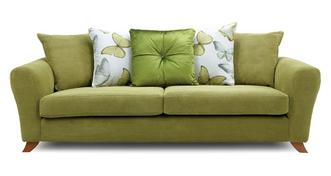 Dion Pillow Back 4 Seater Sofa