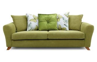 Pillow Back 4 Seater Sofa Dion