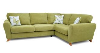 Dion Formal Back Left Hand Facing 3 Seater Corner Sofa