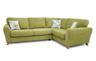 Formal Back Left Hand Facing 3 Seater Corner Sofa Dion