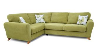 Dion Formal Back Right Hand Facing 3 Seater Corner Sofa