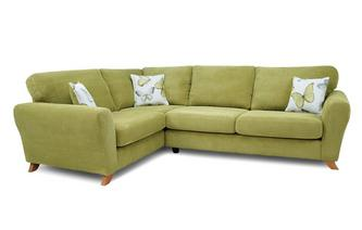 Formal Back Right Hand Facing 3 Seater Corner Sofa Dion