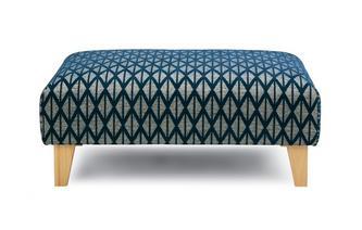 Pattern Banquette Footstool Benita Pattern