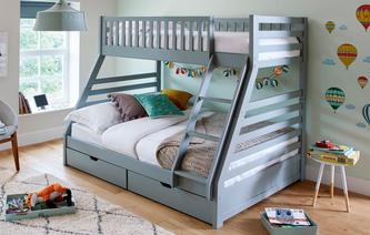 Dual Storage Bunk Bed Dual