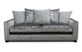 Pillow Back 4 Seater Sofa Dynasty